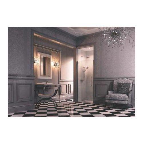 Huppe Design Victorian Drzwi skrzydłowe - Mocowanie prawe 90/193 Szkło Frozen Grace DV0202.092.344 - odbiór