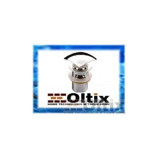 Produkt z kategorii- pozostałe artykuły hydrauliczne - KOREK KWADRATOWY CLICK-CLACK NHC 011B z przelewem do