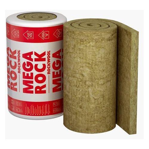 Wełna mineralna Rockwool Megarock Plus 10cm - Wełna mineralna Rockwool Megarock 10cm (izolacja i ocieplenie)