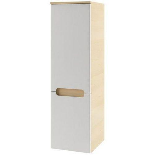 Produkt z kategorii- regały łazienkowe - CLASSIC - Słupek boczny SB-350, biały/brzoza, L