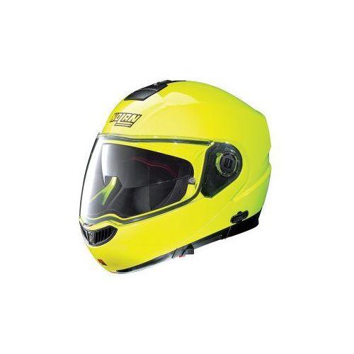 Kask Szczękowy  N104 Evo Hi-Visibility N-Com (Żółty), marki Nolan do zakupu w MotoKanion