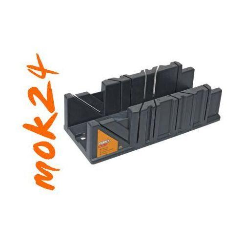 Towar z kategorii: skrzynki i walizki narzędziowe - Skrzynka uciosowa plastikowa 320x120x75mm 10A846 TOPEX