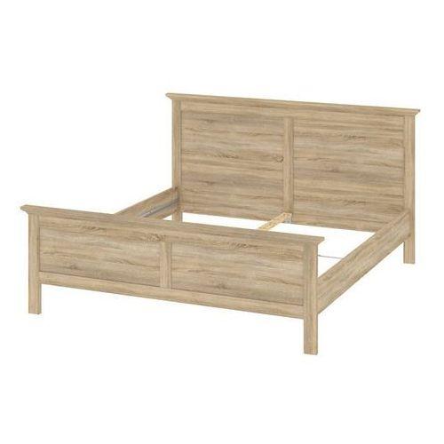 Romantyczne łóżko dąb sonoma PARIS 180x200 cm - 180x200 cm ze sklepu Meble Pumo