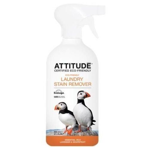 Hypoalergiczny odplamiacz do prania w sprayu cytrusowy 475 ml, Attitude z BioEkoDrogeria