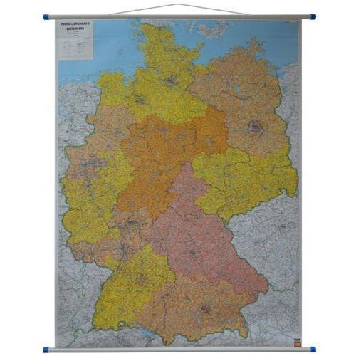 Niemcy. Mapa ścienna kodów pocztowych 1:700 000 wyd. , produkt marki Freytag&Berndt