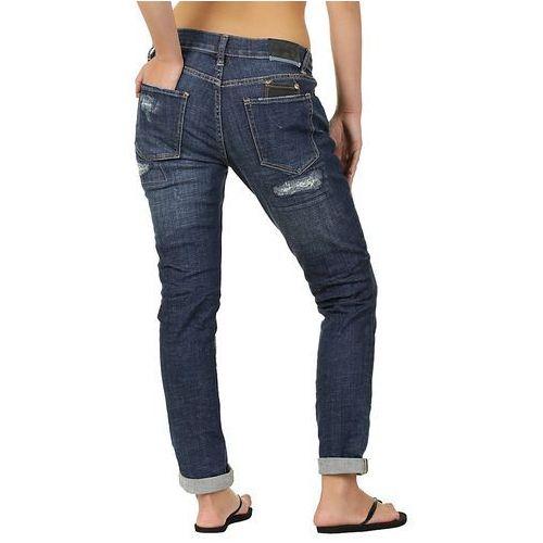Produkt z kategorii- spodnie męskie - jeansy Quiksilver Brewster Slim Boyfriend - Thresher Select