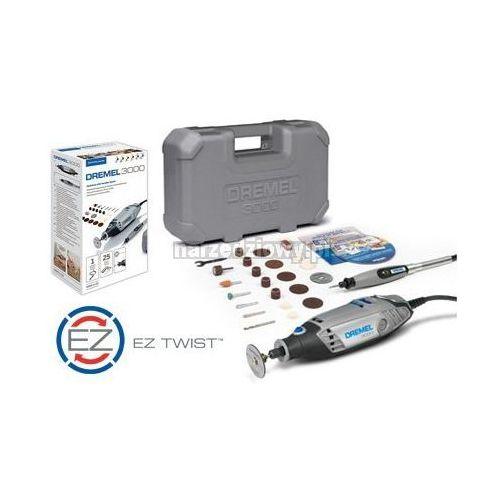 DREMEL Narzędzie wielofunkcyjne 3000 + 25 akcesoriów w walizce (produkt wysyłamy w 24h) TRANSPORT GRATIS !, kup u jednego z partnerów