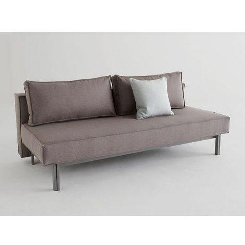 Sofa Sly szara 216 nogi stalowe szare  543071CN216216-02-543070-9, INNOVATION iStyle