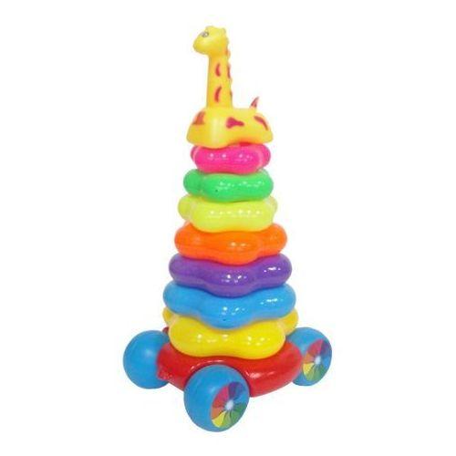 Zabawka SWEDE Piramida Z Żyrafką - produkt dostępny w Media Expert