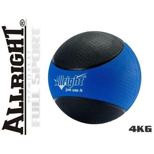 Produkt 4kg - Piłka lekarska Allright - gumowa