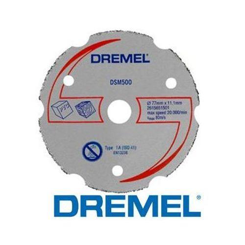 Oferta DREMEL Uniwersalna węglikowa tarcza tnąca DSM 500 do urządzenia Dremel DSM 20 (2615S500JA)