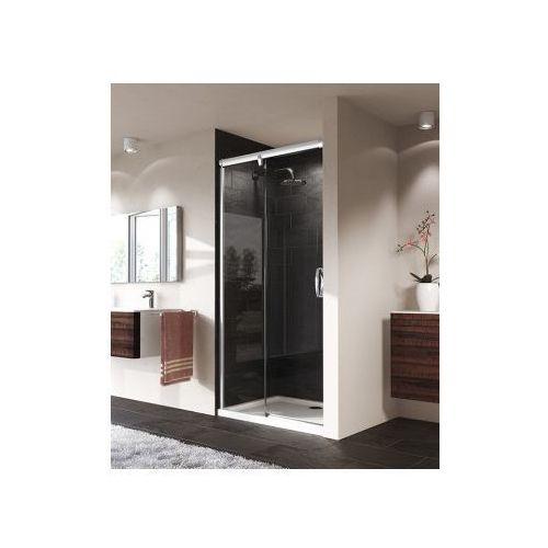 HUPPE AURA ELEGANCE drzwi suwane 1-częściowe ze stałym segmentem 401401 (drzwi prysznicowe)