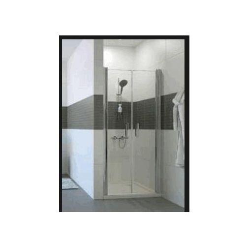 HUPPE CLASSICS 2 , drzwi wahadłowe do wnęki 4-kąt C23701 (drzwi prysznicowe)