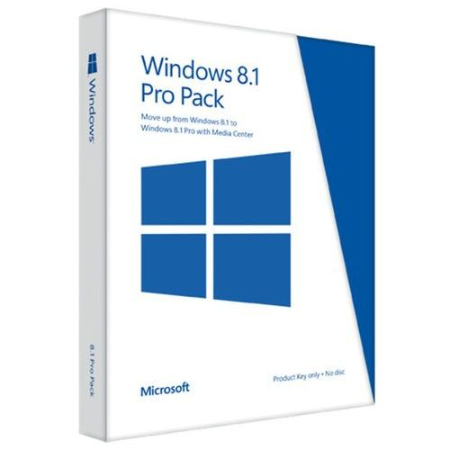 Oferta Win Pro Pack 8.1 32-bit/64-bit Eng Intl Pup Medialess Win To Pro Mc