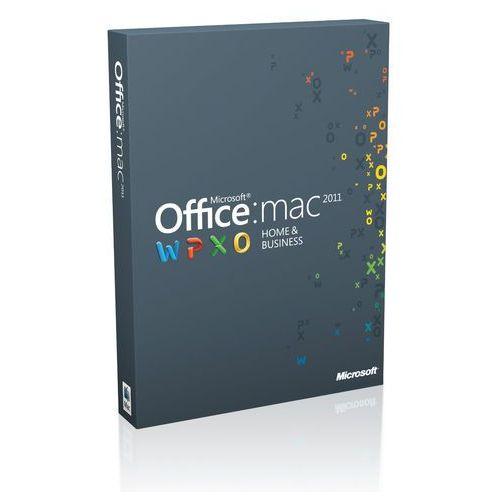Produkt z kategorii- pozostałe oprogramowanie - Off Mac Home Business 1PK 2011 English Eurozone Medialess