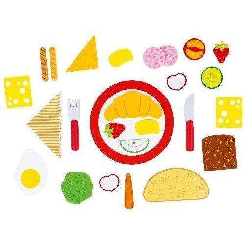 Zestaw śniadaniowy do zabawy dla dzieci oferta ze sklepu www.epinokio.pl