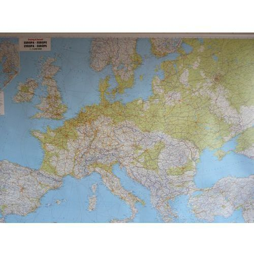 Europa. Mapa ścienna fizyczna 1:2,6 mln wyd. , produkt marki Freytag&Berndt