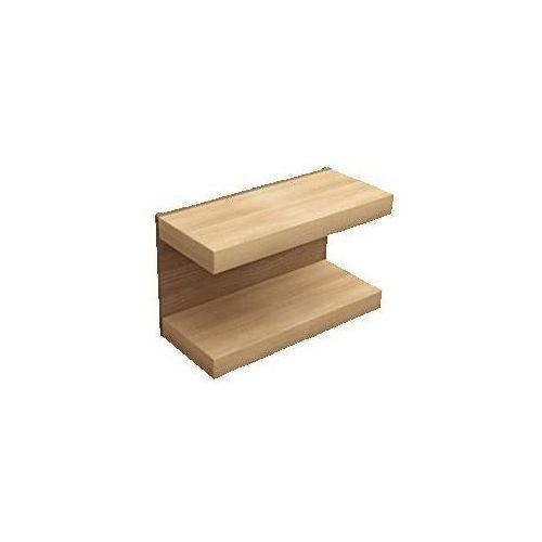 Regał 800x480x350 mm Villeroy & Boch Pure Stone 95850000 - produkt z kategorii- regały łazienkowe