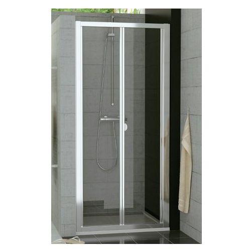 SANSWISS TOP LINE Drzwi przesuwno-składane 2-częściowe 90 TOPK09005007 (drzwi prysznicowe)