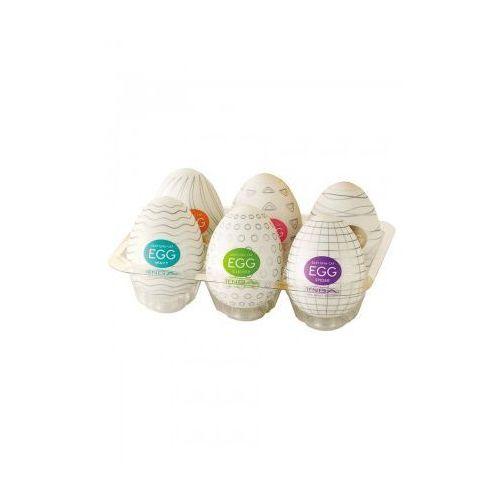 Zestaw 6 sztuk różnych jajek do masturbacji TENGA EGG ASSORTI - oferta [0543ea05213245b3]