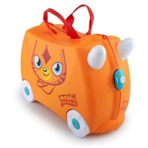 Walizka TRUNKI Poppet Moshi Monsters jeżdżąca Pomarańczowy - produkt dostępny w Media Expert