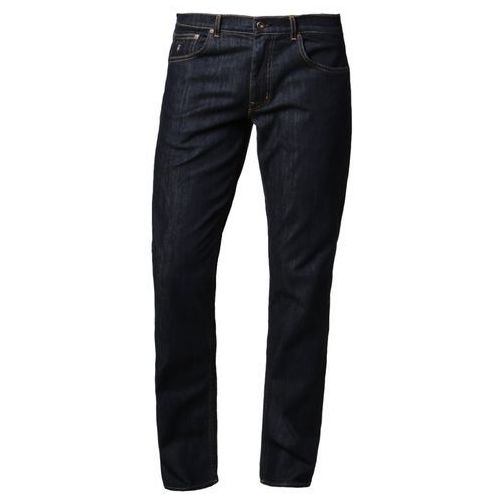 GANT TYLER CONNECTICUT Jeansy Straight leg dark blue broken - produkt z kategorii- spodnie męskie