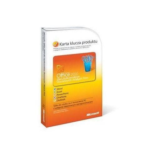 Microsoft Office 2010 dla Użytkowników Domowych i Małych Firm Polski PKC (T5D-00311) z kategorii Programy biurowe i narzędziowe