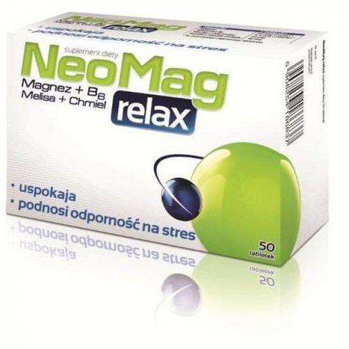 NeoMag Relax tabl. - 50 szt., postać leku: tabletki