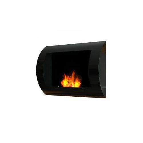 Biokominek dekoracyjny 60x45 cm czarny Convex - oferta [05f7ed0d21e2b549]