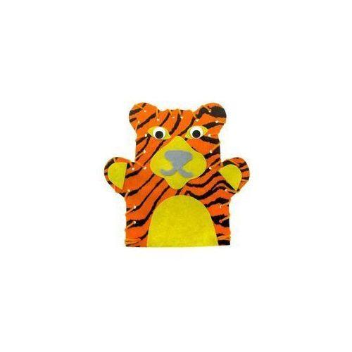 Pan Robótka. Pacynka tygrysa - mini zestaw (pacynka, kukiełka)