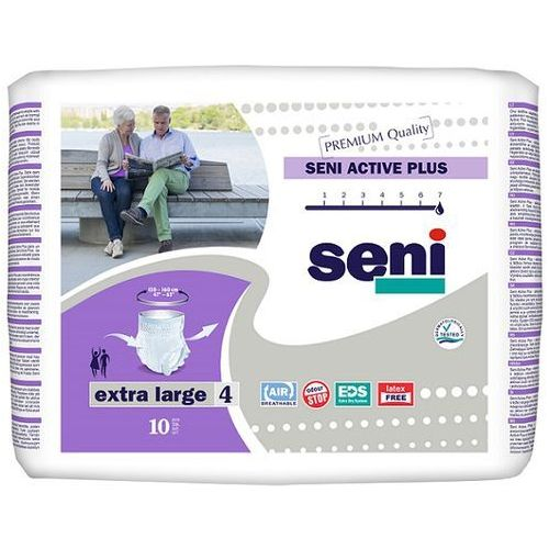 Produkt Majtki chłonne Seni Active Plus (4) Extra Large 10szt.