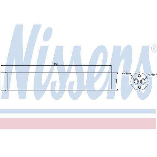 Towar z kategorii: osuszacze powietrza - Osuszacz, klimatyzacja NISSENS 95438