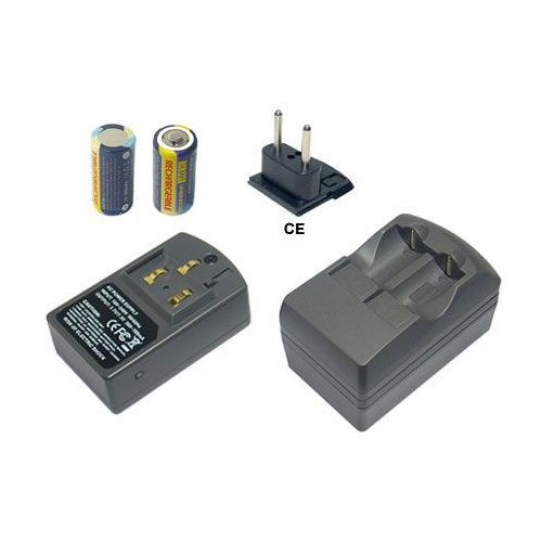 Hi-Power Akumulator CR123A, DL123A 2szt. + ładowarka z kat. akumulatory dedykowane