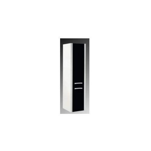 Szafka Elita Tokyo słupek biało/czarny 164254 - produkt z kategorii- regały łazienkowe