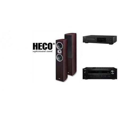 ONKYO TX-8020 + C-N7050 + HECO VICTA 502