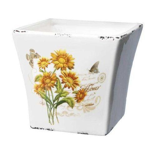 Osłonka ceramiczna Flower 11,5cm - sprawdź w CitiHome.pl