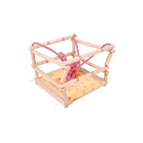 Huśtawka drewniana z materacykiem, , Interkobo