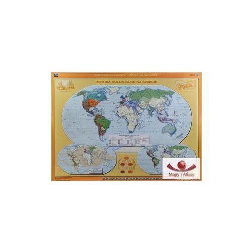 Świat / Imperia kolonialne na świecie. Mapa ścienna, produkt marki Nowa Era