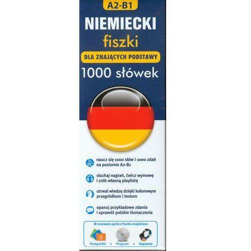 Niemiecki fiszki 1000 słówek dla znających podstawy A2-B1 - oferta [35ff4b7b778585c9]