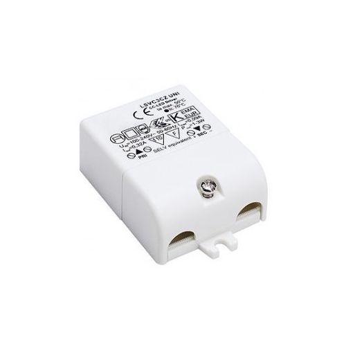 Oferta Zasilacz LED, 3VA, 350mA, z odciążnikiem z kat.: oświetlenie