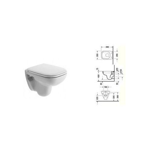 Duravit D-code muszla podwieszana compact 22110900002 ()