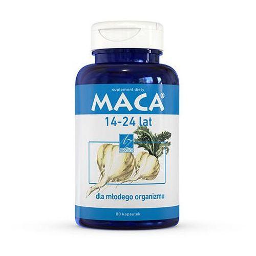 MACA 14-24 lat 80 kapsułek, postać leku: kapsułki