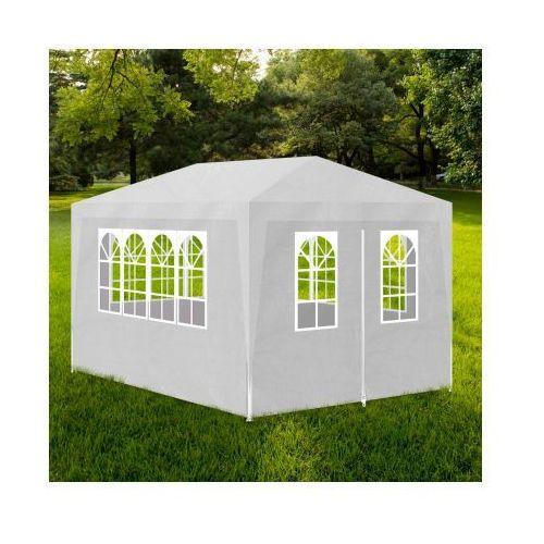 Namiot imprezowy, ogrodowy, biały (3x4). - produkt z kategorii- namioty ogrodowe