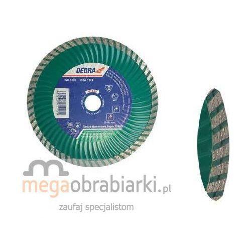 DEDRA Tarcza Super Turbo, falisty rdzeń 230 mm H1147 RATY 0,5% NA CAŁY ASORTYMENT DZWOŃ 77 415 31 82 ze sklepu Megaobrabiarki - zaufaj specjalistom