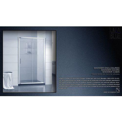 DRZWI PRYSZNICOWE AXISS GLASS AN6121D 1300mm (drzwi prysznicowe)