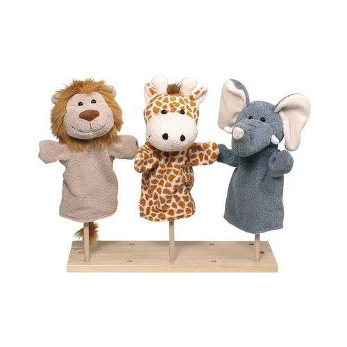 Oferta Pacynka na rękę. Słoń, lew, żyrafa (pacynka, kukiełka)