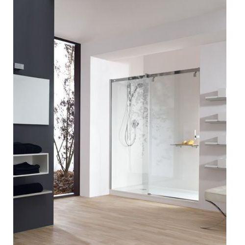 Huppe Vista Pure Drzwi prysznicowe suwane 1-częściowe ze stałym segmentem do wnęki - Mocowanie lewe 140/20
