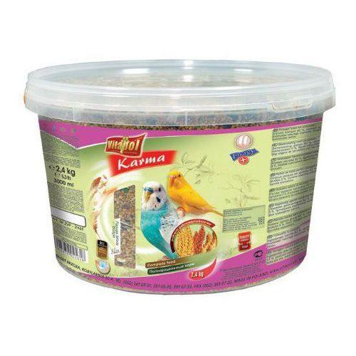Vitapol Karma dla papugi falistej wiaderko 3L / 2,4kg [2161], vitapol