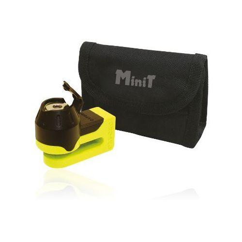 OXFORD blokada tarczy hamulocwej Mini Titan trzpień 5,5mm kolor żółto czarny (alarm motocyklowy)