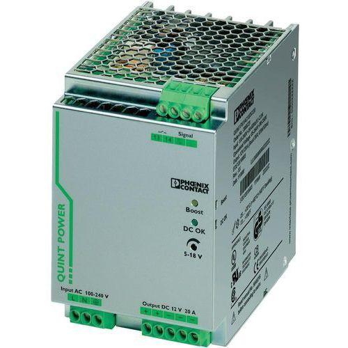 Artykuł Zasilacz na szynę Phoenix Contact QUINT-PS/1AC/12DC/20, 12V, 20 A z kategorii transformatory